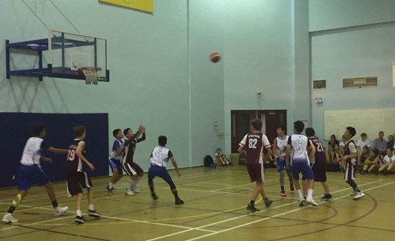 U14 Basketball vs ISHCMC