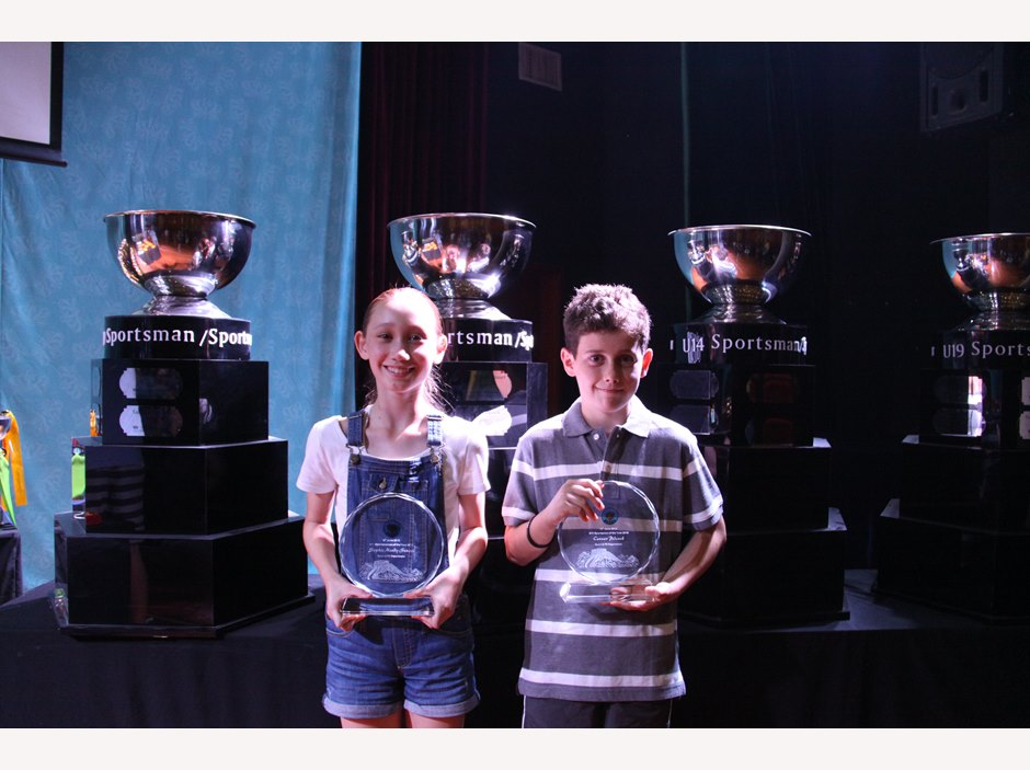 U11 Sportsman/woman of the Year 2015: Connor Pidcock, Sophie Moody-Stuart
