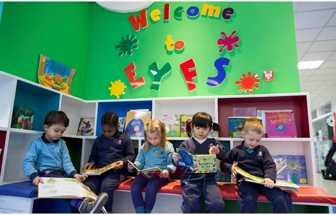 EYFS library
