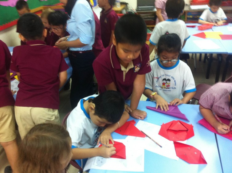 Community Service at An Phu Primary, British International School Ho Chi Minh CIty