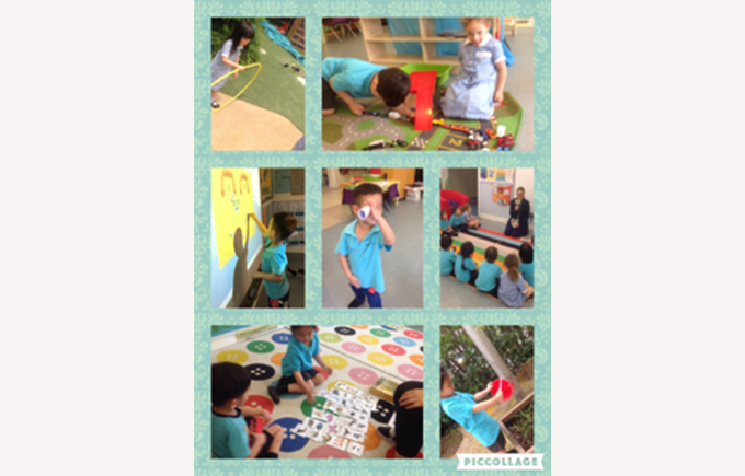 Nursery love learning together