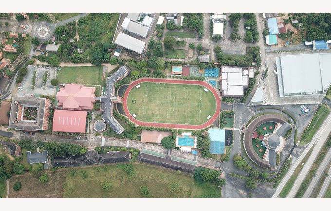 Birds Eye View | Regents International School Pattaya