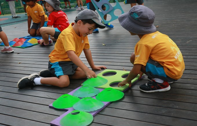 Dover Court International School Singapore, Year 1 Maths House Day