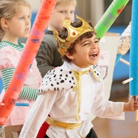 Boy playing Juilliard Drama Curriculum