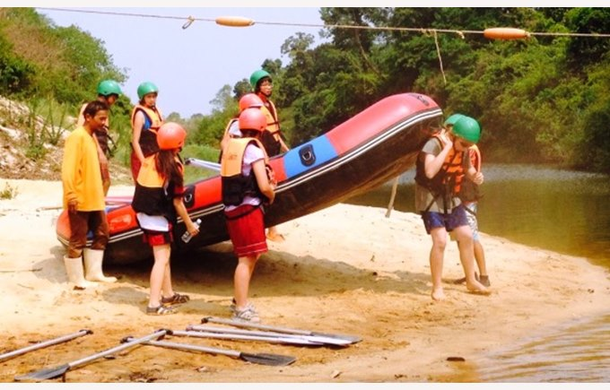 Rafting at Khao Yai