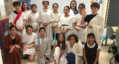 Ancient Greece topic in Year 6