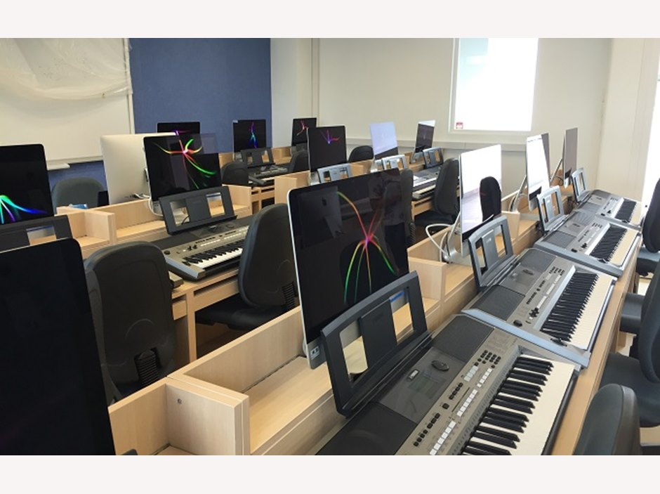 The Juilliard Keyboard Lab on 5/F