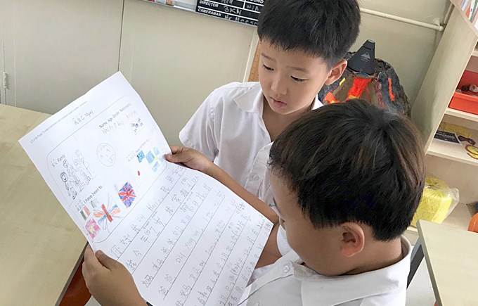 Applying our Mandarin Learning Through Show-and-Tell in Year 3