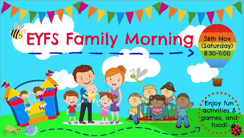 EYFS Family Morning