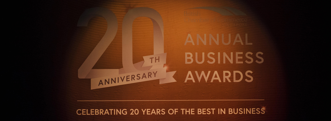 Brit Cham 20th Anniversary Annual Business Awards
