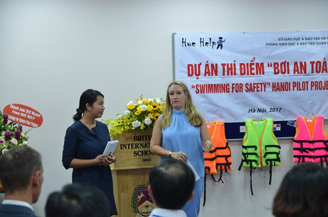 British International School Hanoi Swimming Safety Programme