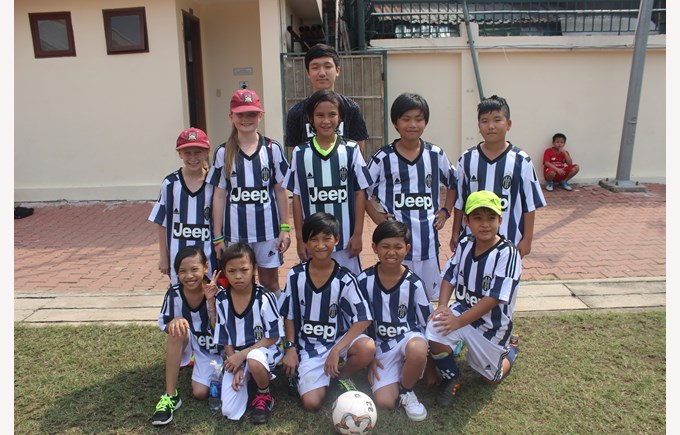 Community Football Tournament BISHCMC Juventus
