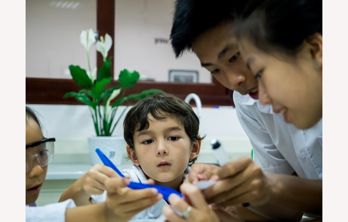 British International School Hanoi| Green week