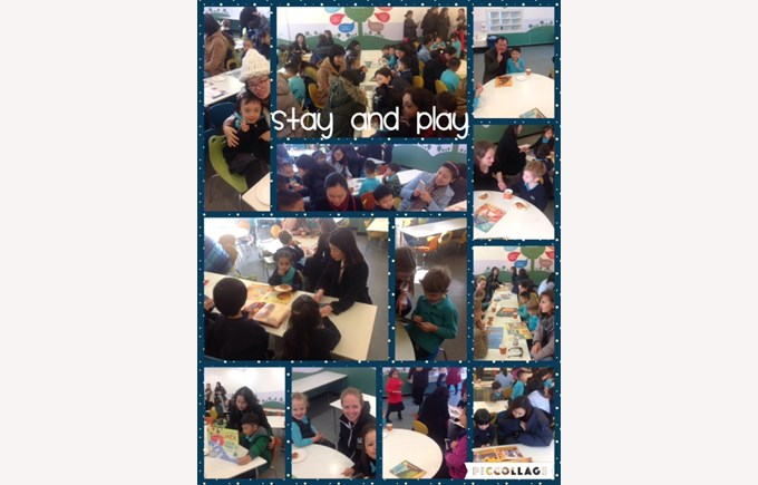 Stay and Play in Reception