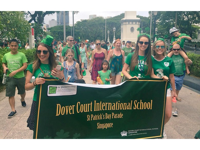 DCIS St Patrick's Day Parade 2018