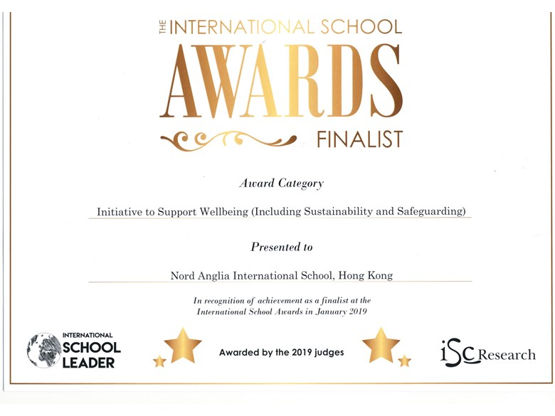 ISA finalist award - Safeguarding