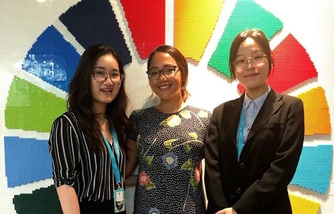 BIS Student Ambassadors join NAE-UNICEF Student Summit 2019