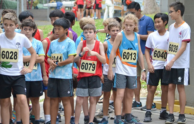 DCIS Under 12 ACSIS Cross Country Team