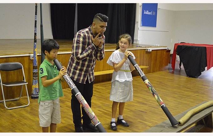 Didgeridoo with Year 3