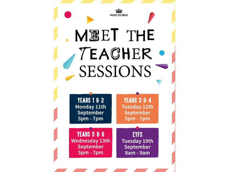 Meet the Teacher Sessions