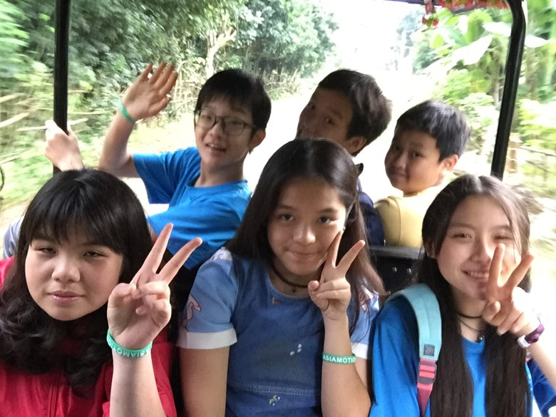 British International School Secondary Year 8 Mai Chau Trip