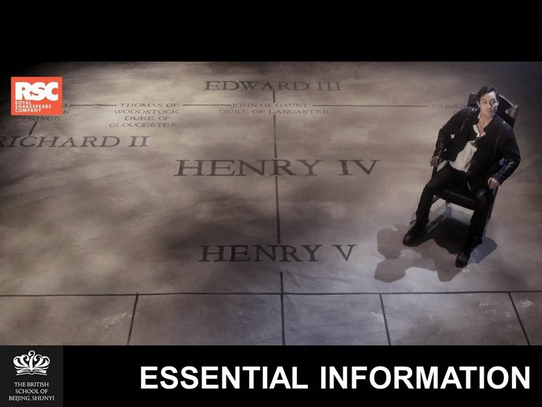 Henry IV Feb 18 Essential Info