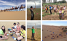 Year 8 having fun in the desert in Inner Mongolia