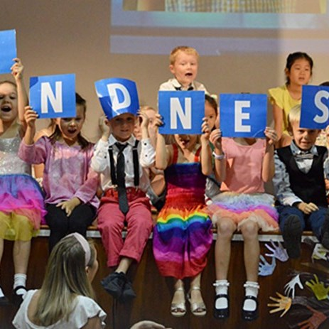 Kindness Assembly by 2RC and 2NL