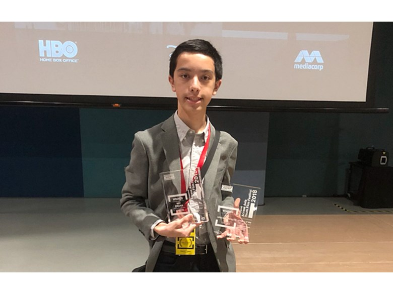 DCIS Student Wins Best Drama and Best Special Effects at Across Asia Youth Film Festival