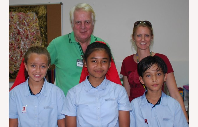 Global Citizenship amongst the day and boarding school students at Regents International School Pattaya