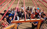 Students from the British International School Shanghai on Activities Week