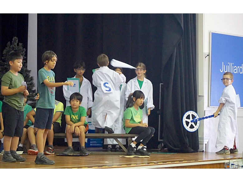 Upper Primary Assembly MIT STEAM Challenge - Greener Skies by 4SK and 4RB