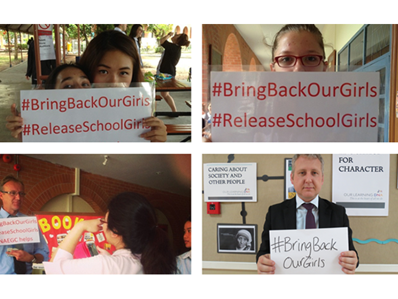 BISS Puxi Supports Bring Back Our Girls