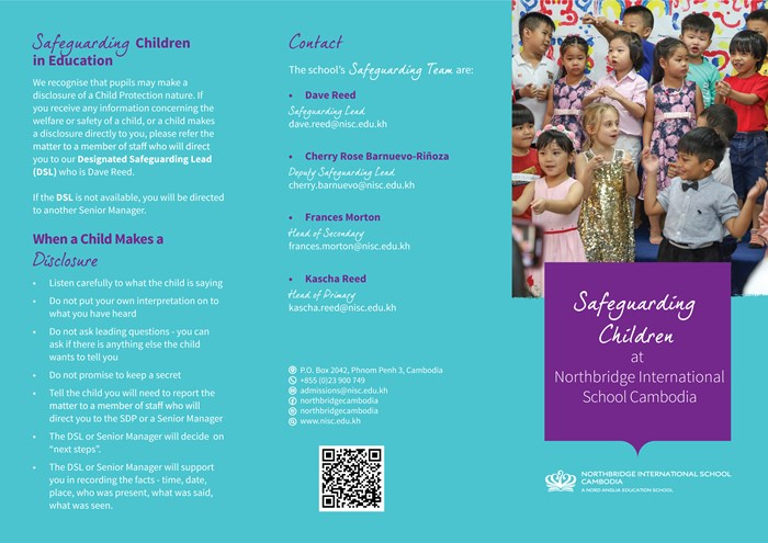 Northbridge International School Cambodia - Safeguarding