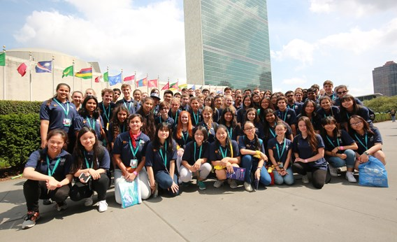 Student Ambassadors to Visit the UN in July