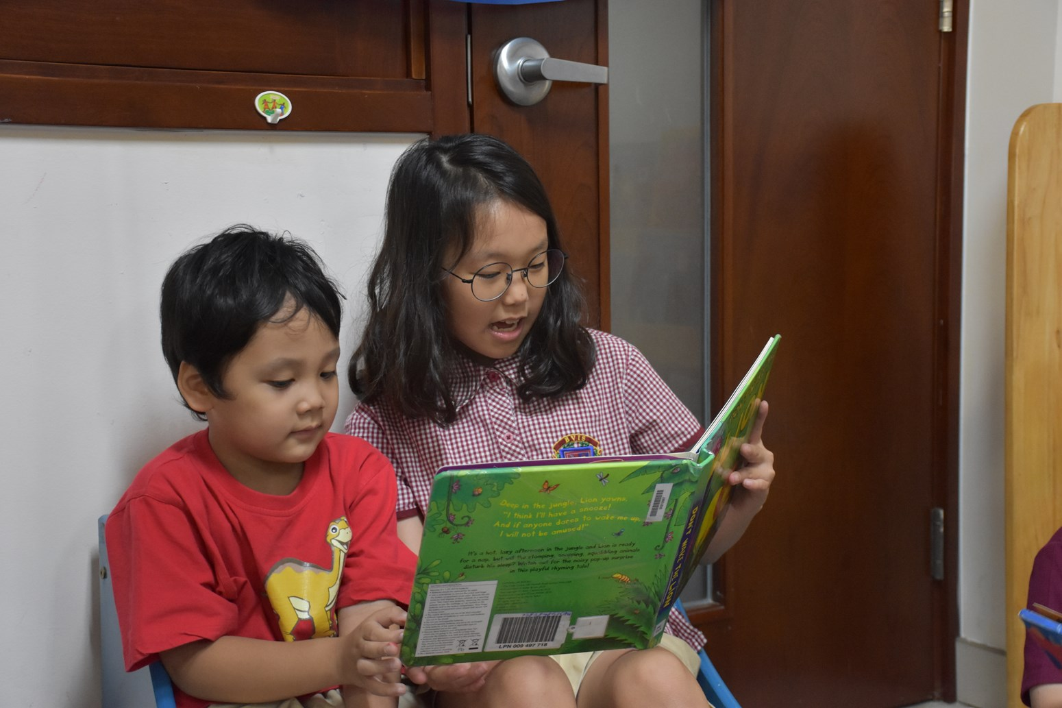 Paired Reading World Book Day 2019 (6)