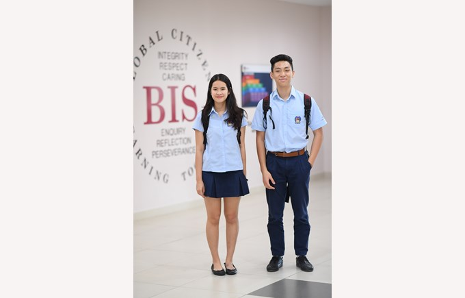 British International School Hanoi uniform