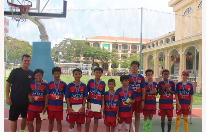 Community Football Tournament BISHCMC Winners