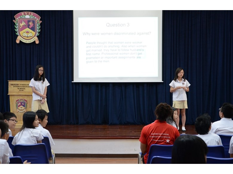 BVIS Hanoi assembly about discrimination (2)