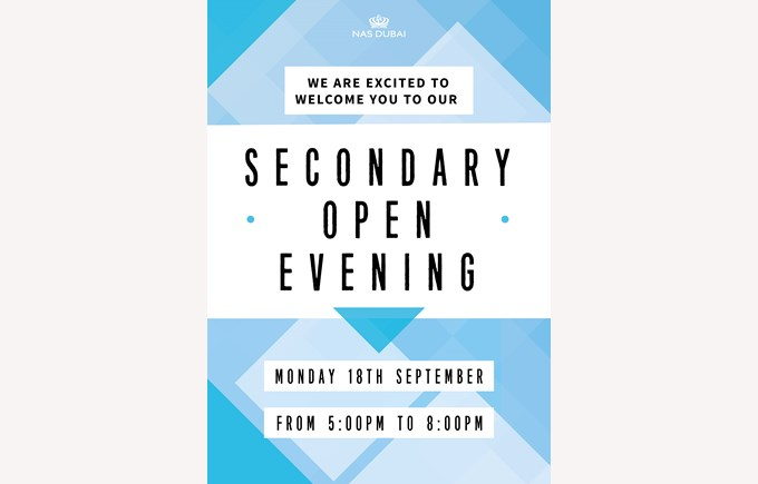 Secondary Open Evening