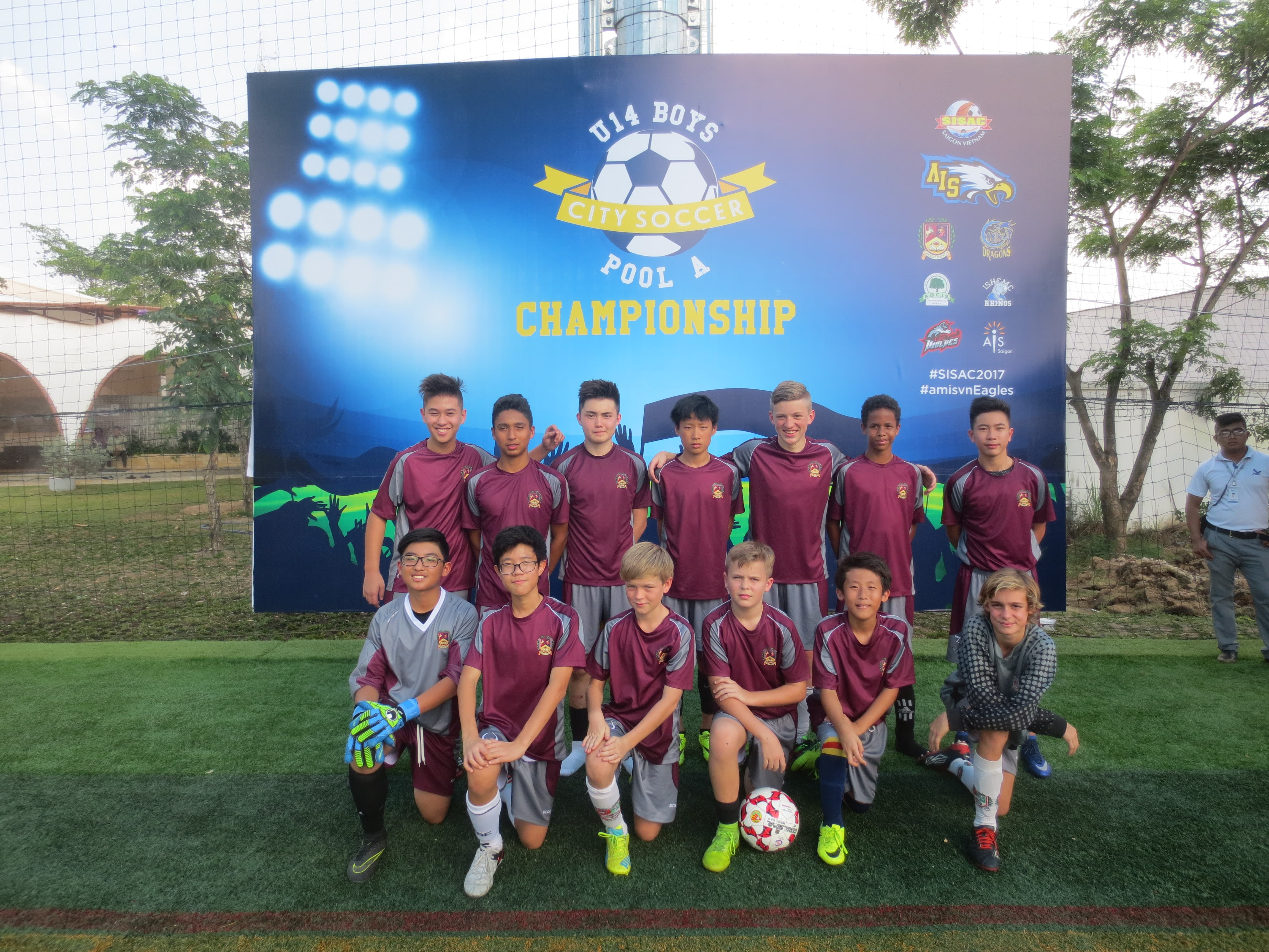 BIS HCMC Boys Football U14A SISAC Champs 1