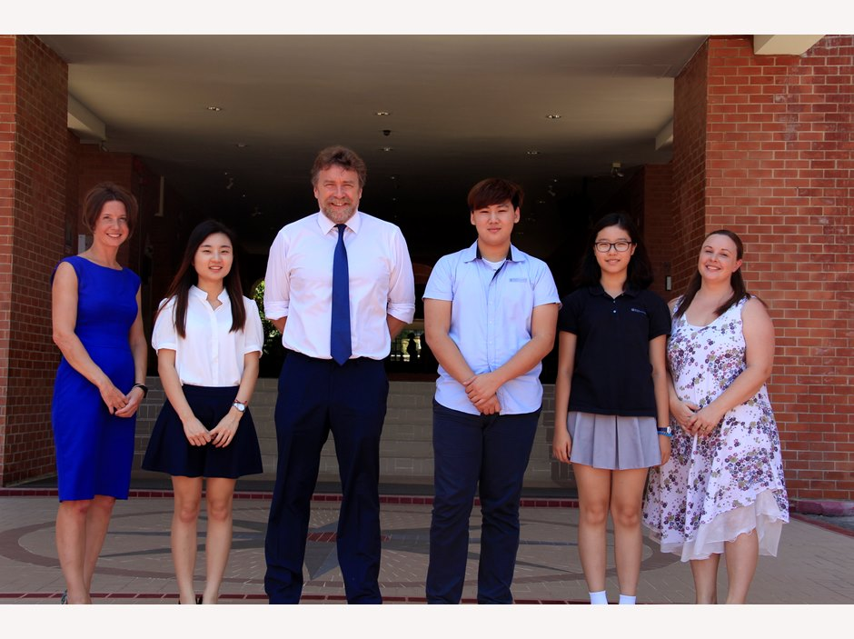 Mary Park, Sally Jeon & Kevin Kim - Regents International School Pattaya