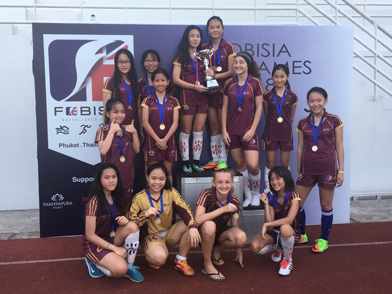 British International School Hanoi Fobisia U13