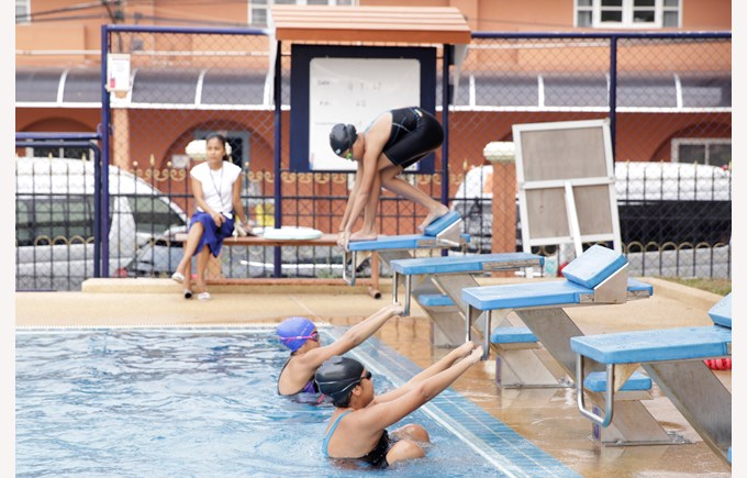 Secondary swimming CCA