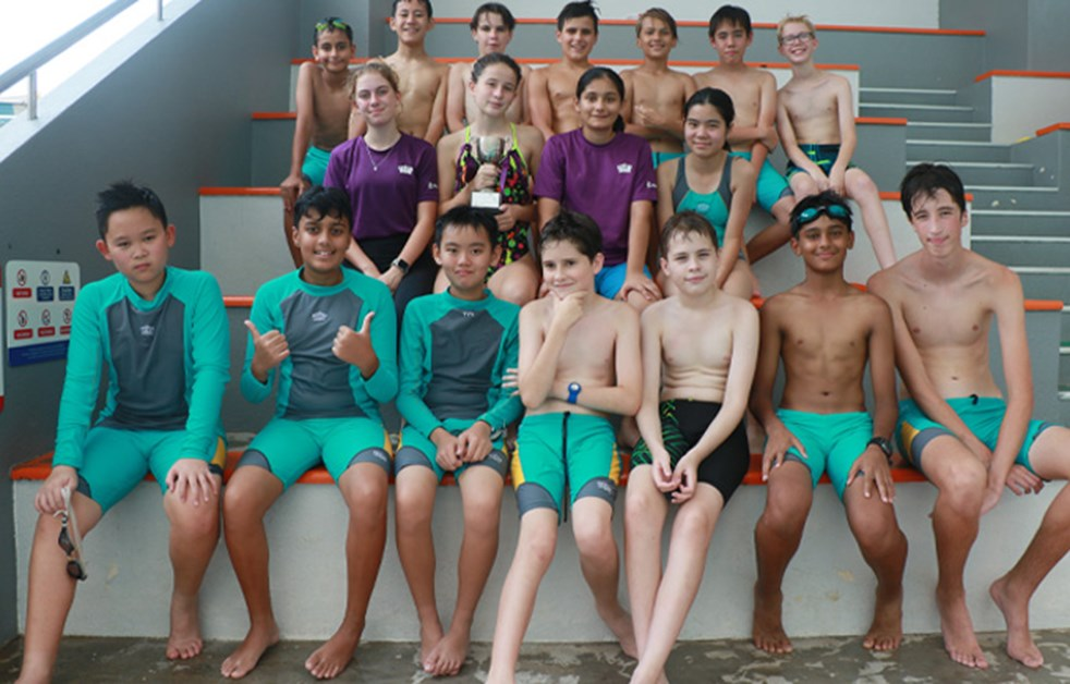 Swim Gala Year 8 Winners Kranji