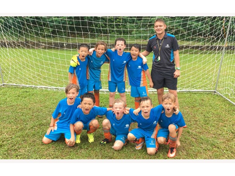 Football U9 Boys Won Gold Medal for Division 3 and Silver Medal for Division 4