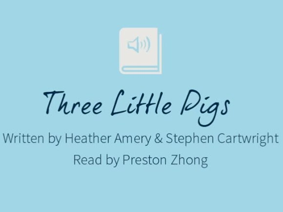 BSG Audiobooks - The 3 Little Pigs