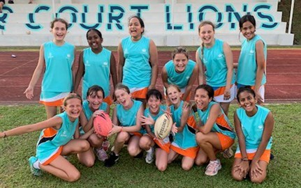 U12 Dover Court Touch Rugby