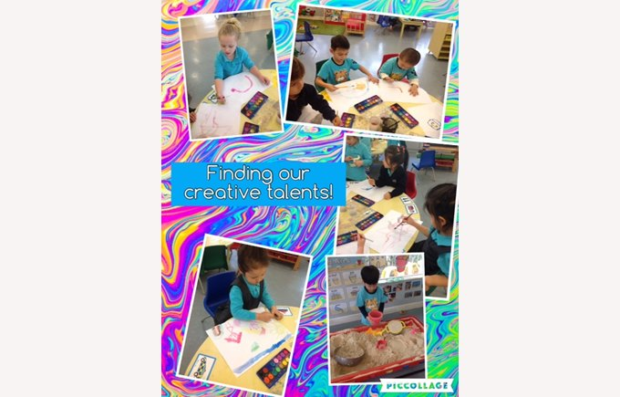 Creative talents in Nursery