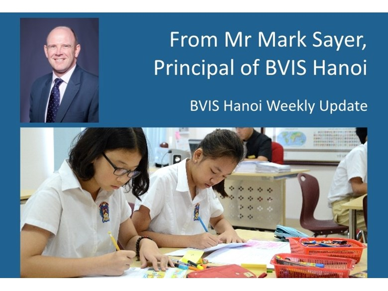 BVIS Hanoi weekly update 19 June